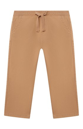 Детские хлопковые брюки TARTINE ET CHOCOLAT бежевого цвета, арт. TS22061/18M-3A   Фото 1