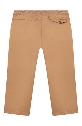 Детские хлопковые брюки TARTINE ET CHOCOLAT бежевого цвета, арт. TS22061/18M-3A   Фото 2