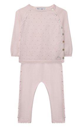 Детский комплект из пуловера и брюк TARTINE ET CHOCOLAT светло-розового цвета, арт. TS36001/1M-1A | Фото 1