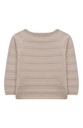 Детский комплект из пуловера и брюк TARTINE ET CHOCOLAT бежевого цвета, арт. TS36011/1M-1A | Фото 3
