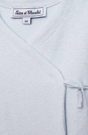 Детский комплект из кардигана и брюк TARTINE ET CHOCOLAT светло-голубого цвета, арт. TS36021/1M-1A   Фото 6