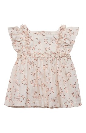 Комплект из блузы и шорт | Фото №2