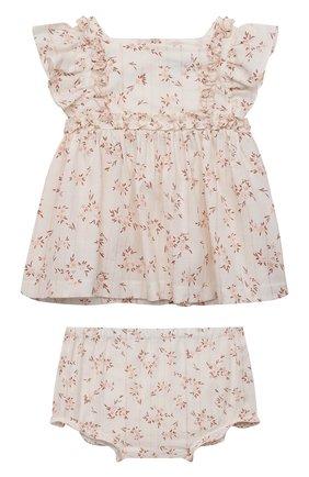 Комплект из блузы и шорт | Фото №1