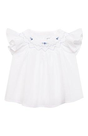 Детский комплект из блузы и шорт TARTINE ET CHOCOLAT белого цвета, арт. TS37031/1M-9M | Фото 2
