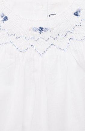 Детский комплект из блузы и шорт TARTINE ET CHOCOLAT белого цвета, арт. TS37031/1M-9M | Фото 6