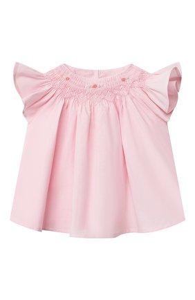 Детский комплект из блузы и шорт TARTINE ET CHOCOLAT светло-розового цвета, арт. TS37031/1M-9M | Фото 2