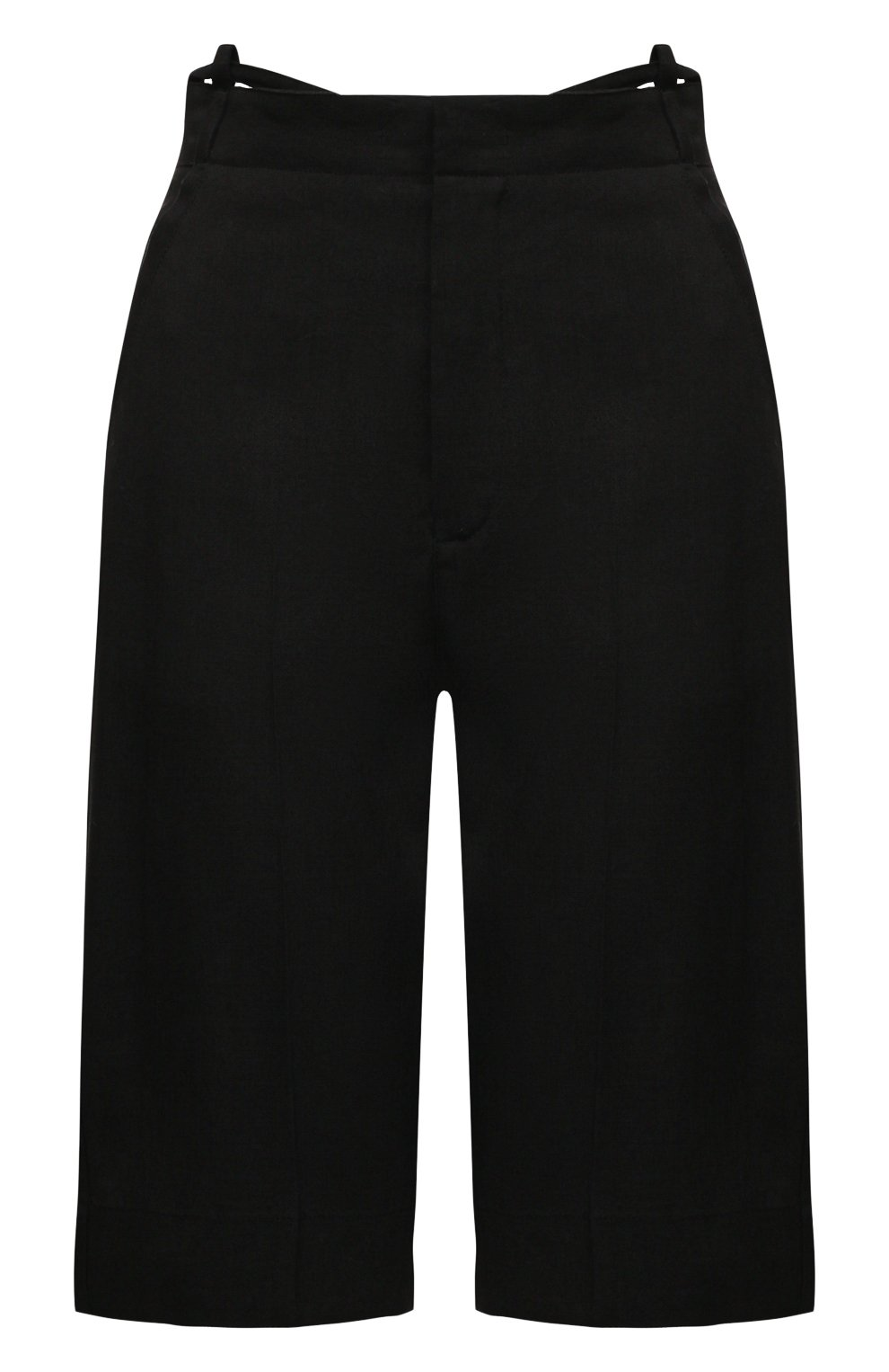 Женские шорты JACQUEMUS черного цвета, арт. 211PA06/103990 | Фото 1