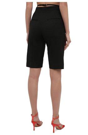 Женские шорты JACQUEMUS черного цвета, арт. 211PA06/103990 | Фото 4