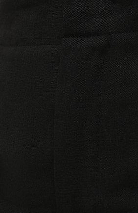 Женские шорты JACQUEMUS черного цвета, арт. 211PA06/103990 | Фото 5