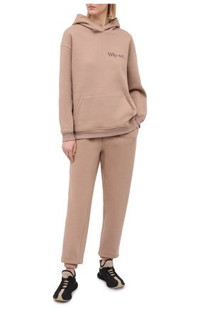 Женский хлопковый костюм SEVEN LAB бежевого цвета, арт. HPW20-WN cocoa   Фото 1