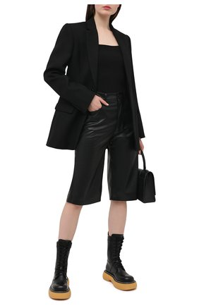 Женский шерстяной жакет WARDROBE.NYC черного цвета, арт. W4015PC | Фото 2