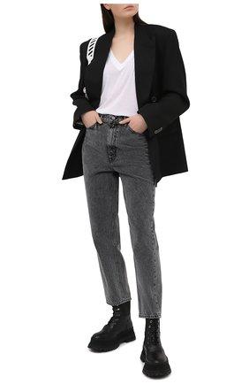 Женские джинсы GRLFRND темно-серого цвета, арт. GF44489511519 | Фото 2