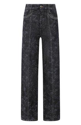 Женские джинсы CHLOÉ темно-серого цвета, арт. CHC21SDP21157 | Фото 1