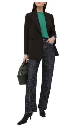 Женские джинсы CHLOÉ темно-серого цвета, арт. CHC21SDP21157 | Фото 2