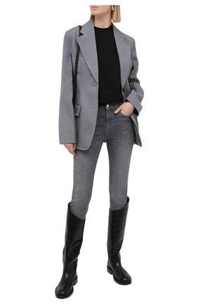 Женские джинсы EMPORIO ARMANI серого цвета, арт. 3K2J20/2DE9Z | Фото 2