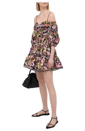 Женское платье VERSACE JEANS COUTURE черного цвета, арт. D2HWA413-WDP904/S0098 | Фото 2