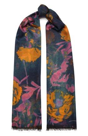 Женский шарф DRIES VAN NOTEN разноцветного цвета, арт. 211-31310-004   Фото 1 (Материал: Текстиль, Шелк)