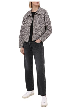 Женская куртка KENZO бежевого цвета, арт. FB52BL121560 | Фото 2
