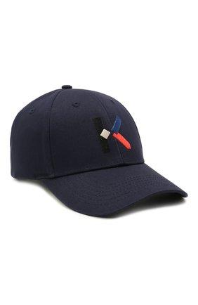 Женская бейсболка KENZO темно-синего цвета, арт. FB55AC051F33 | Фото 1