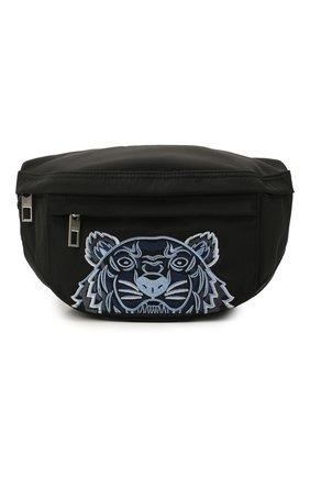 Женская поясная сумка kampus KENZO черного цвета, арт. FA65SF305F20 | Фото 1