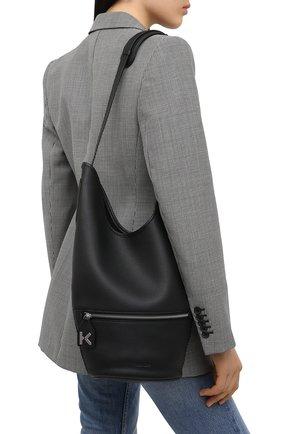 Женский сумка bucket KENZO черного цвета, арт. FA62SA021L26 | Фото 2