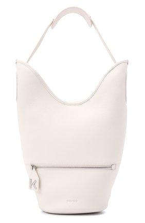 Женский сумка bucket KENZO бежевого цвета, арт. FA62SA021L26 | Фото 1