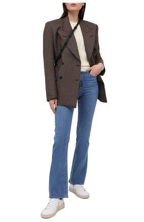 Женский хлопковый пуловер POLO RALPH LAUREN бежевого цвета, арт. 211838164 | Фото 2
