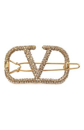 Женская заколка для волос  VALENTINO золотого цвета, арт. VW2J0H38/YCW | Фото 1