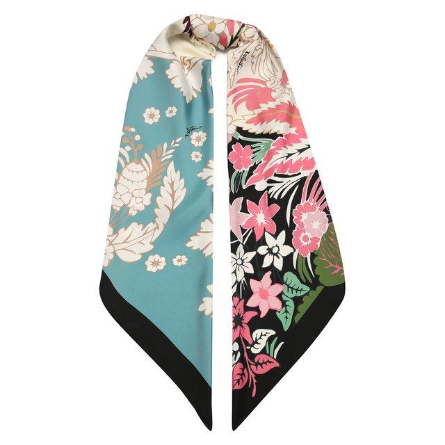 Шелковый платок Valentino Garavani Valentino