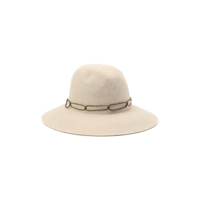 Фетровая шляпа с мехом кролика Brunello Cucinelli