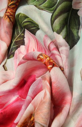 Женская шаль DOLCE & GABBANA разноцветного цвета, арт. FS184A/GDV65   Фото 2