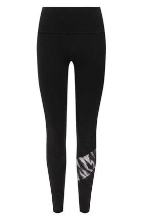 Женские леггинсы ELECTRIC&ROSE черно-белого цвета, арт. AWLG11-CREST WASH | Фото 1