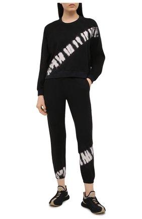 Женский хлопковый свитшот ELECTRIC&ROSE черно-белого цвета, арт. LFCV08-CREST | Фото 2
