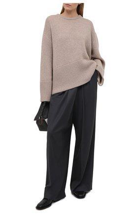 Женский кашемировый пуловер TOTÊME бежевого цвета, арт. 211-559-753 | Фото 2