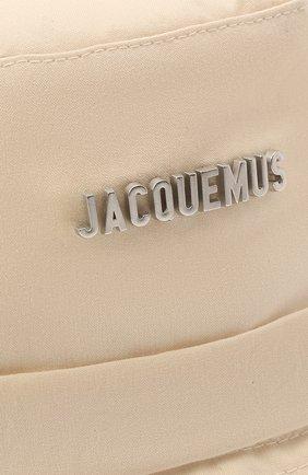 Женская панама le bob gadjo JACQUEMUS светло-бежевого цвета, арт. 211AC03/504150 | Фото 3
