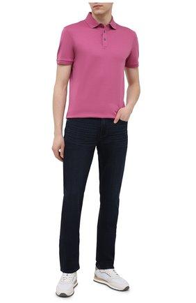 Мужские джинсы PAIGE темно-синего цвета, арт. M655521-3800 | Фото 2