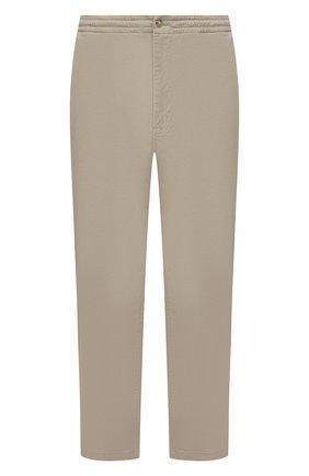 Мужские хлопковые брюки POLO RALPH LAUREN бежевого цвета, арт. 711740566/PRL BS | Фото 1