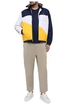 Мужские хлопковые брюки POLO RALPH LAUREN бежевого цвета, арт. 711740566/PRL BS | Фото 2