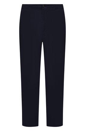 Мужские хлопковые брюки POLO RALPH LAUREN темно-синего цвета, арт. 711740566/PRL BS | Фото 1
