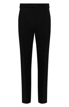Мужские льняные брюки RALPH LAUREN черного цвета, арт. 798830244 | Фото 1 (Длина (брюки, джинсы): Стандартные; Материал внешний: Лен; Случай: Повседневный; Материал подклада: Вискоза; Стили: Кэжуэл)