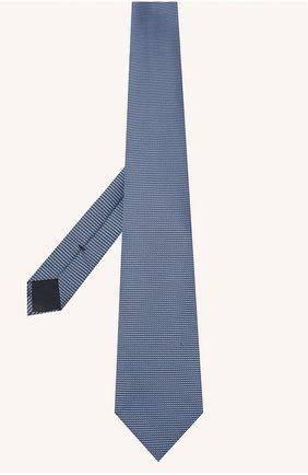 Мужской шелковый галстук TOM FORD синего цвета, арт. 9TF07/XTF | Фото 2