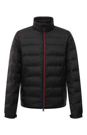Мужская пуховая куртка helfferich 2 moncler 1952 MONCLER GENIUS черного цвета, арт. G1-092-1A544-40-57425 | Фото 1 (Длина (верхняя одежда): Короткие; Материал внешний: Синтетический материал; Материал утеплителя: Пух и перо; Кросс-КТ: Куртка; Стили: Гранж; Мужское Кросс-КТ: пуховик-короткий; Рукава: Длинные; Материал подклада: Синтетический материал)