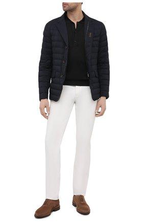 Мужская пуховая куртка zavyer-s3 MOORER темно-синего цвета, арт. ZAVYER-S3/M0UGI100071-TEPA028   Фото 2 (Материал внешний: Синтетический материал; Длина (верхняя одежда): Короткие; Кросс-КТ: Куртка; Материал подклада: Синтетический материал; Стили: Кэжуэл; Мужское Кросс-КТ: пуховик-короткий; Рукава: Длинные; Материал утеплителя: Пух и перо)