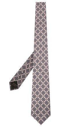 Мужской комплект из галстука и платка BRIONI светло-розового цвета, арт. 08A900/P042H | Фото 2