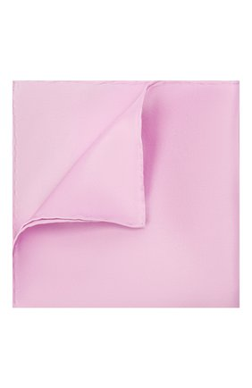 Мужской шелковый платок BRIONI сиреневого цвета, арт. 071000/PZ409 | Фото 1
