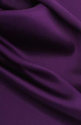 Мужской шелковый платок BRIONI фиолетового цвета, арт. 071000/PZ409 | Фото 2