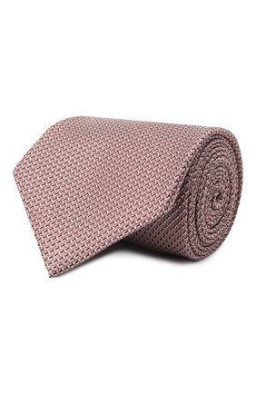 Мужской шелковый галстук BRIONI сиреневого цвета, арт. 062I00/P041L | Фото 1