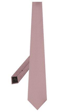 Мужской шелковый галстук BRIONI сиреневого цвета, арт. 062I00/P041L | Фото 2