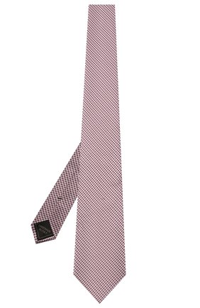 Мужской шелковый галстук BRIONI сиреневого цвета, арт. 062I00/P0427 | Фото 2