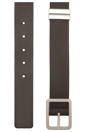 Мужской кожаный ремень BOTTEGA VENETA темно-коричневого цвета, арт. 649371/VA9B0 | Фото 2